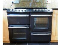 Belling Cookcentre Evolution Dual Fuel 110cm range cooker