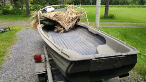 Dingy For Duck Hunting