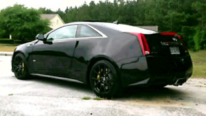 2012 Cadillac CTSV Black Diamond edition