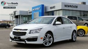 2015 Chevrolet Cruze LTZ LTZ, NAV, ONE OWNER, NO ACCIDENT