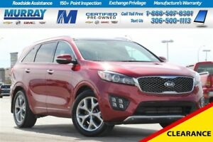 2016 Kia Sorento SX*NAV SYSTEM*SUNROOF*REAR CAMERA*