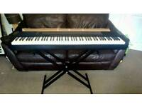 Casio CDP-130 digital piano plus stand and case