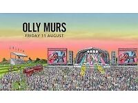 Olly Murs live at Haydock Park Friday 11th August