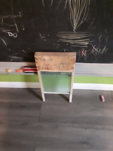 Antique washer board