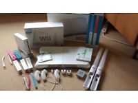 Wii console bundle plus games & accessories