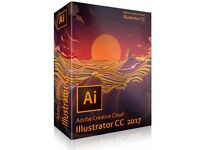 Adobe Illustrator CC 2017 Lifetime Activation Windows or Mac Full Version