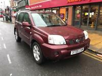 NISSAN X TRAIL 2.2 DCI 05 PLATE 6 SPEED LONG MOT EXCELLENT RUNNER £950