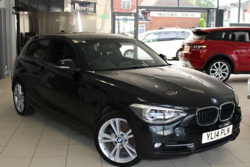 2014 14 BMW 1 SERIES 2.0 120D SPORT 3D 181 BHP DIESEL