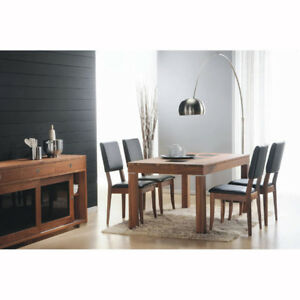Contemporary WALNUT Finish Dining Series