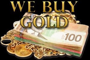 Fort McMurray's BiGGEST Gold Buyer 24/7 **iNSTANT CA$H**