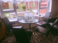 Brand new granite table and chairs!!