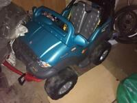 Children's 4x4 Motorised Buggy