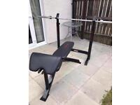 Weight Bench and squat rack (sell or swap)