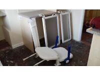 disabled shower screens and door plus seat