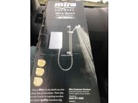 MIRA shower, mira sport max with airboost, electric