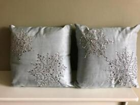 Decorative Cushions £10 for both ONO