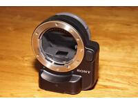 Sony A mount to E mount adapter