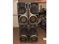 Sony speakers x4