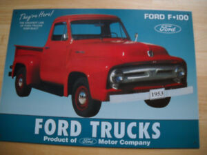 Ford Truck metal signs