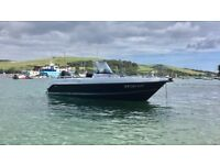 5.20m POWERBOAT. 75hp MERCURY OPTIMAX with SmartCraft. AFON DU SERVICED 02/08/17 BOAT.RIB.SALCOMBE
