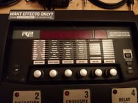 DigiTech RP500 Guitar Multi-Effects Switching System & Sony Microphone & Guitar Cables