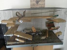 Chinchilla/small animal cage