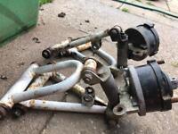 Quad bike arms small 110cc
