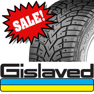 ⭐⭐⭐ ON SALE ⭐⭐⭐ 215/70R16 GISLAVED NORD FROST 100 WINTER TIRES