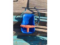 Toddler/baby swing seat