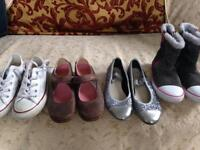 Designer makes Bundle girls 7-9; Gap, M&S, Clarks, Converse, Name It and NEXT. Some items new!!!!