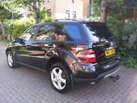 MERCEDES ML 320 CDI 3.0 AUTOMATIC ONE (P) OWNER FULL SERVICE HISTORY