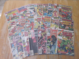 Lot of Vintage Marvel and DC comics-70s