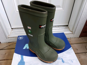 Mens Baffin Steel Toe Rubber Boots size 7