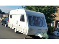 1992 Swift Rapide 450/5 4+ berth touring caravan