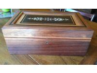 Exotic Wood Cigar Humidor hand made in Madagascar