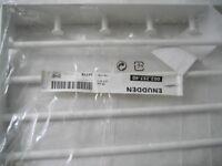 IKEA ENUDDEN WALL SHELF WITH 4 KNOBS, 45cm x 28cm, 4 HANGING RODS, UNUSED