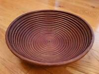 Beautiful New Very Large Wooden Bowl £2!
