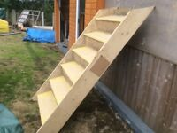 SMALL STAIRCASE, IDEAL FOR SHORT LANDING ETC