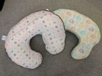 2 breastfeeding pillows for sale