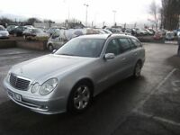 2006 06 MERCEDES-BENZ E CLASS 3.0 E280 CDI AVANTGARDE 5D AUTO 187 BHP***GUARANTEED FINANCE***PART EX