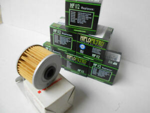 Filtres - 6  Oil FILTER  HiFlo HF112 + one 52010-1053 genuine