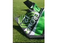 2014 Flysurfer Cronix set. 10m and 12m kitesurfing kite complete with bar and lines