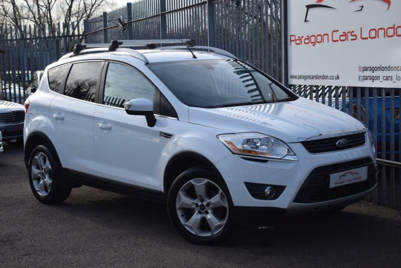 2009 Ford Kuga SUV 2WD 2.0TDCi 136 DPF Titanium 6Spd Diesel white Manual