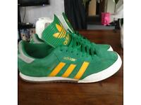 Adidas trainers.