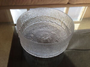 Glass Bowl/Serving Dish