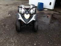 Aeon quad CBR 125 engine fitted