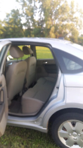 Ford Focus 2008, automatic, 122,000 km, silver 4 doors