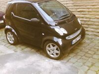 03 mercedes smart car for two semiauto long mot leather interior panoramic roof alloys 599cc £25 tax