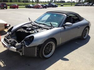 2003 Porsche 911 Carrera 4 Convertible, complete or parts only.