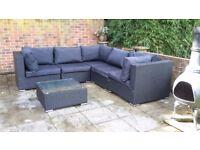 Free to collect - 6 seater garden sofa set